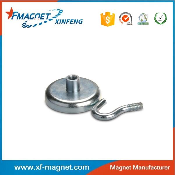 Neodymium Pot Magnet With Countersink