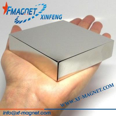 Permanent Neodymium Linear Motor Magnets