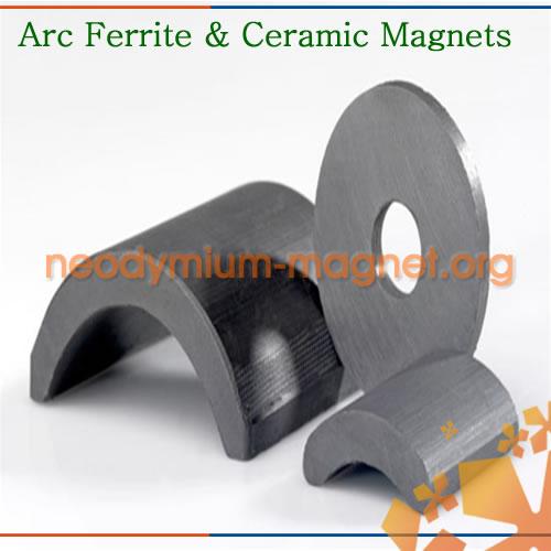 Arc Ferrite Magnet For Motor