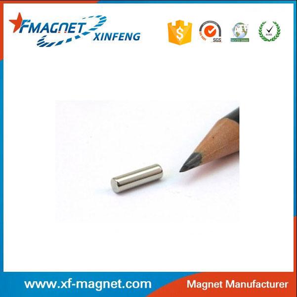 N45 Nickel Rod Neodymium Magnet