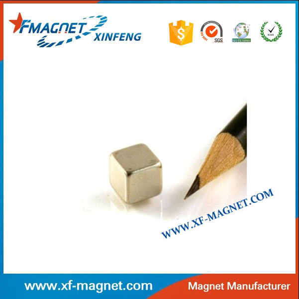 Customized N38 Neodymium Cube Magnet