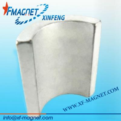 Neodymium Arc Segment Magnet For Motor DC