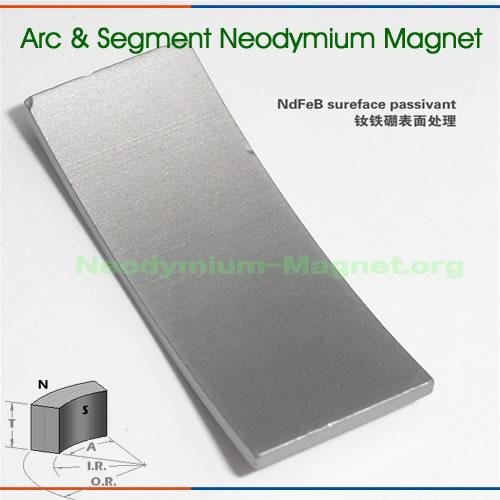 Rare Earth Neodymium Arc Magnet