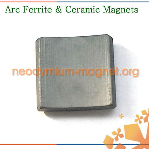 Arc Ferrite Magnet For Motor