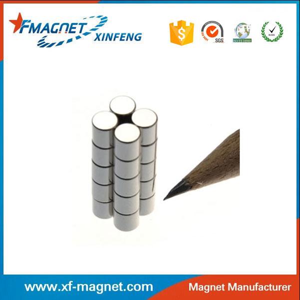 N35 Neodymium Magnet With Nickel Coating