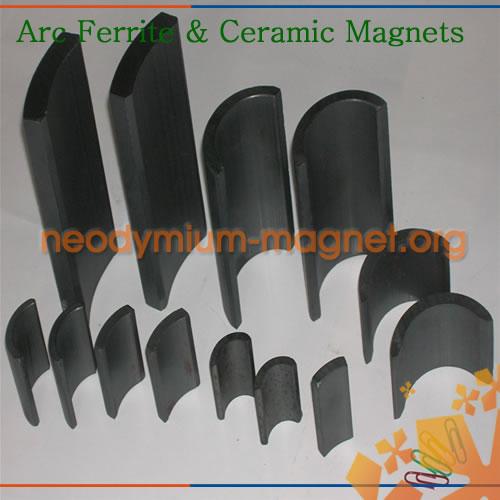 Arc Ferrite Magnet Permanent