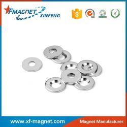 Nickel Plated Neodymium Counter-sunk Magnet