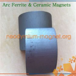 High Powerful Arc Ferrite Magnet