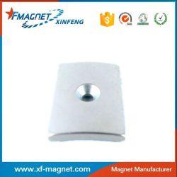 DC Brush Permanent Arc Magnets For Motor