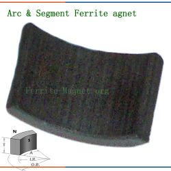 Arc Sintered Ferrite Vibration Motor Magnet
