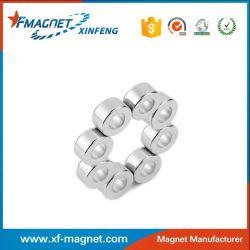 Zinc Coating Ring Neodymium Magnet