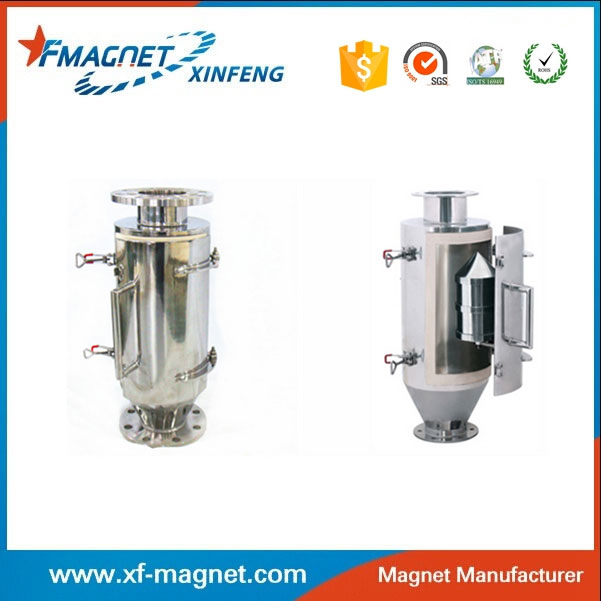 High-temperature high magnetic stainless steel magnetic separation