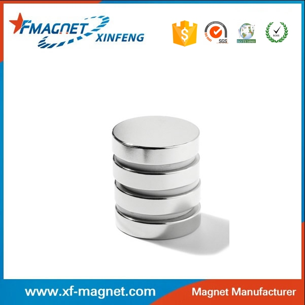 D6X2 N40 Disc Neodymium Magnet With Nickel Coated