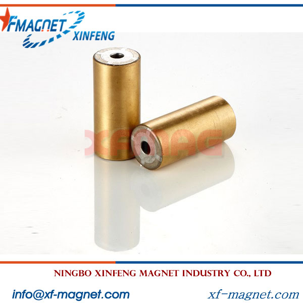 Copper plated Radial NdFeB Ring Magnet