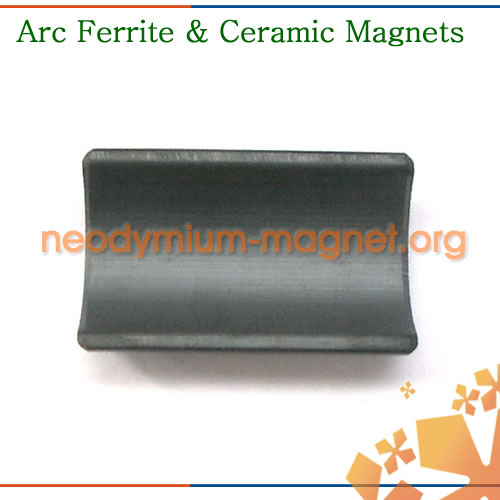 Arc Ferrite Permanent Magnet
